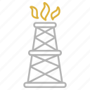 drilling, equipment, industry, rig icon