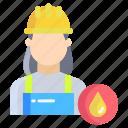 woman, worker