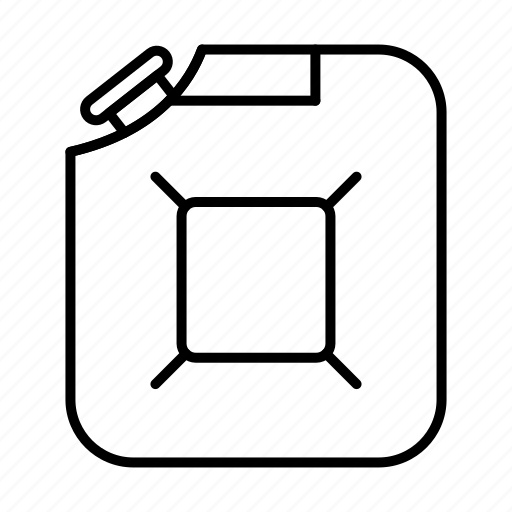 energy, jerrycan, oil industry, petrol icon