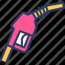 station, pipe, nozzle, fuel nozzle, fuel, fuel pipe icon