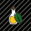 virgin, palm, oil icon