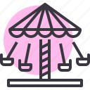 carousel, entertainment, festival, funfair icon