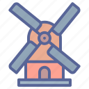 energy, mill, power, windmill icon