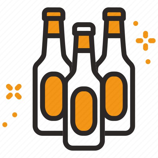 alcohol, beer, bottle, drink icon