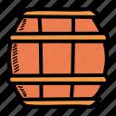 barrel, beer, oak, octoberfest icon