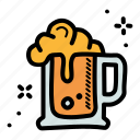 alcohol, beer, mug, octoberfest icon