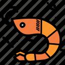 fish, lobster, prawn, shrimp icon