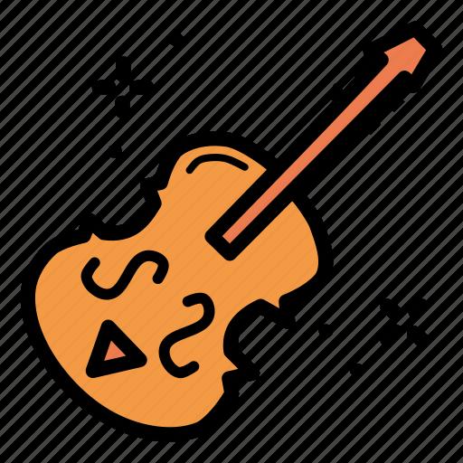 cello, instrument, music, violin icon