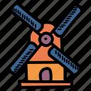 energy, mill, power, windmill