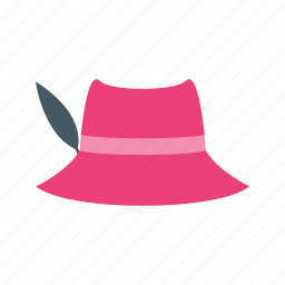beautiful, cap, dress, hat, modern, summer, woman icon