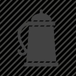 alcohol, bar, beer, glass, liquid, mug, yellow icon