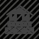 architecture, building, estate, garage, garden, house, modern