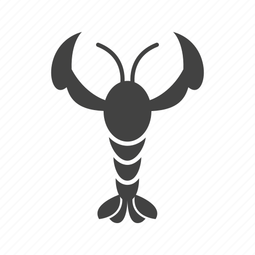 claw, cooked, gourmet, lobster, red, seafood, shellfish icon