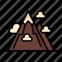 mountain, nature, peak, plateau