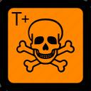 danger, hazard, hazard symbol, safety, toxic, toxic material, very toxic