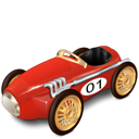 car, racing, toy, transportation icon
