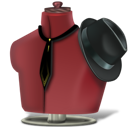 clothes, clothing, mannequin icon