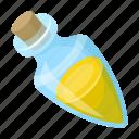cork, flavoring, glass, oil, olive, storage, vessel icon