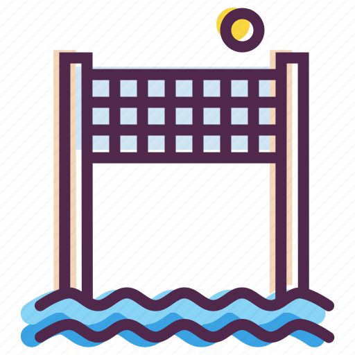 Ball, beach, games, olympics, play, sports, volleyball icon - Download on Iconfinder