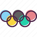 games, logo, olympic, olympics, rings, sports, summer