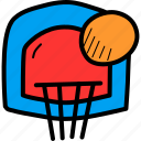 basketball, dunk, games, hoop, nba, olympics, slam icon