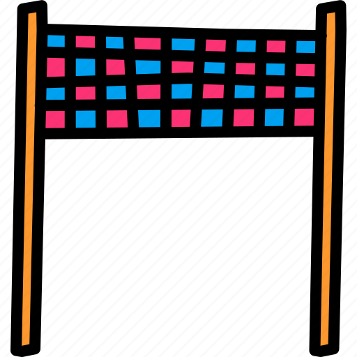 Banner, checkered, end, finish, line, race, target icon - Download on Iconfinder