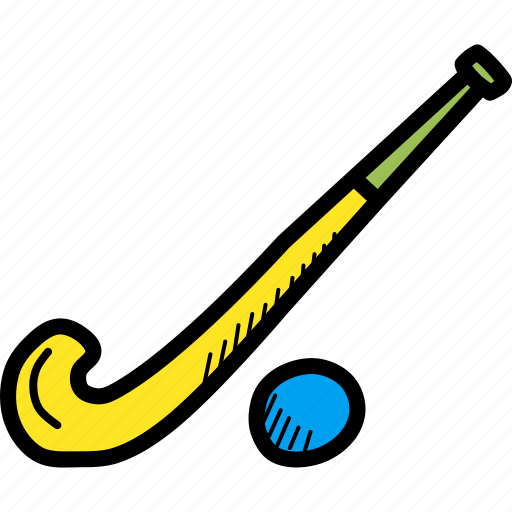 ball, games, hockey, olympics, play, sports, stick icon
