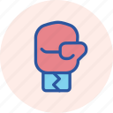 boxing, fight, games, glove, hit, olympics, punch icon