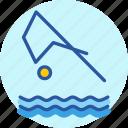 aquatics, diving, games, olympics, sports, swimming, water icon