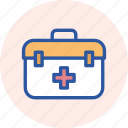 box, medikit, doctor, medical, healthcare, aid, first