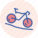 adventure, bicycle, cycle, cycling, games, mountain, olympics icon