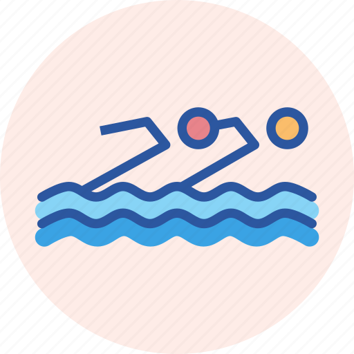 Aquatics, games, olympics, sports, swimming, synchronised, water icon - Download on Iconfinder