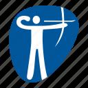 archery, games, olympic, sport