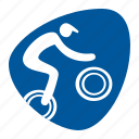 biking, bmx, cycling, games, olympic, sport icon