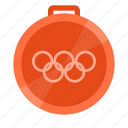 bronze, games, medal, olympic, sport