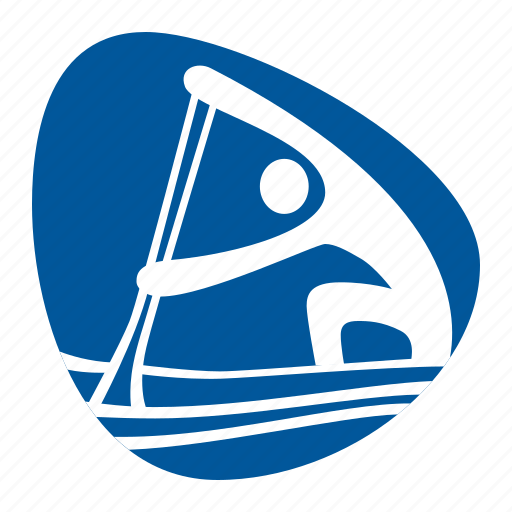 canoe, games, kayak, olympic, sport, sprint, water icon