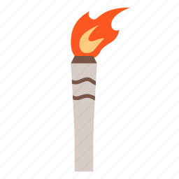 games, olympic, sport, torch icon