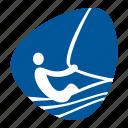 boat, games, olympic, sailing, sea, sport