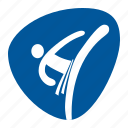 combat, dueling, games, olympic, single combat, sport, taekwondo icon