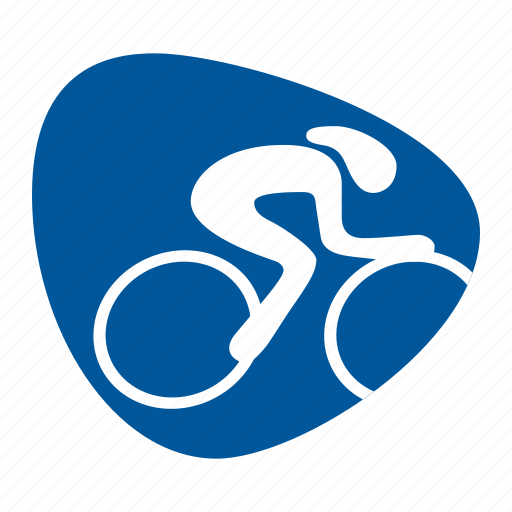 bike, cycling, games, olympic, speed, sport, track icon