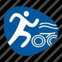 cycling, games, olympic, running, sport, swimming, triathlon