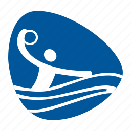 games, olympic, polo, sport, team, water icon