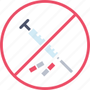 banned, drugs, no, olympics, pills, prohibited, steroids icon