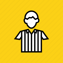 games, olympics, player, referee, soccer, sports, umpire icon