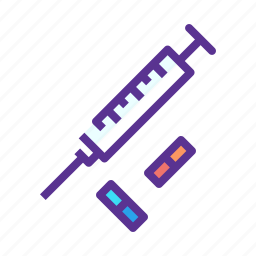 drugs, injection, medicine, olympics, performance, pills, steroids icon