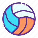 play, ball, volleyball, sports, games, olympics