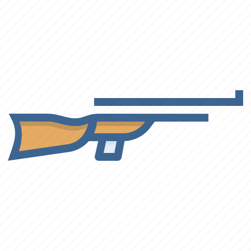 air gun, games, olympics, pistol, rifle, shooting, sports icon