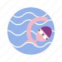 breaststroke, butterfly, olympic, sport, summer, swimming icon