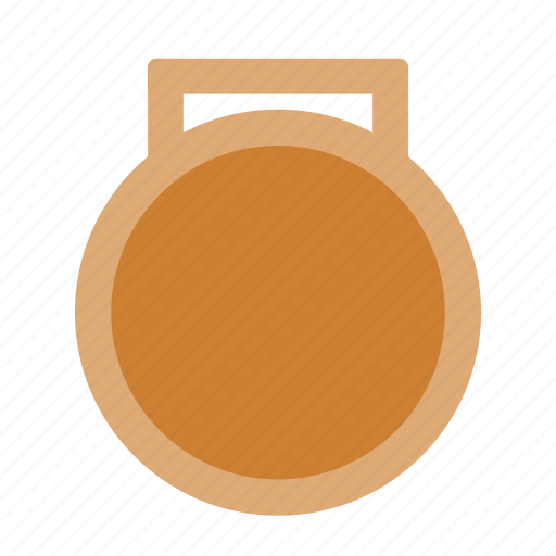 bronze, place, third icon