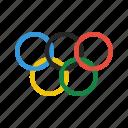 logo, olympics icon